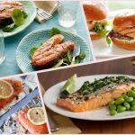Разные блюда из рыбы